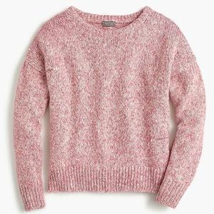 J.Crew Point Sur Balloon Sleeve Donegal Sweater